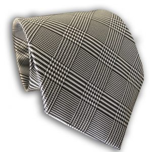 Plaid Polyester Tie