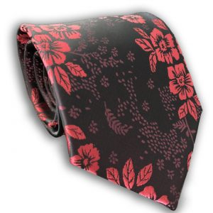 Red Polyester Tie
