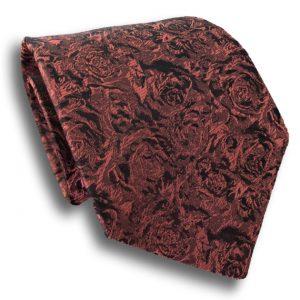Rose Red Silk Tie