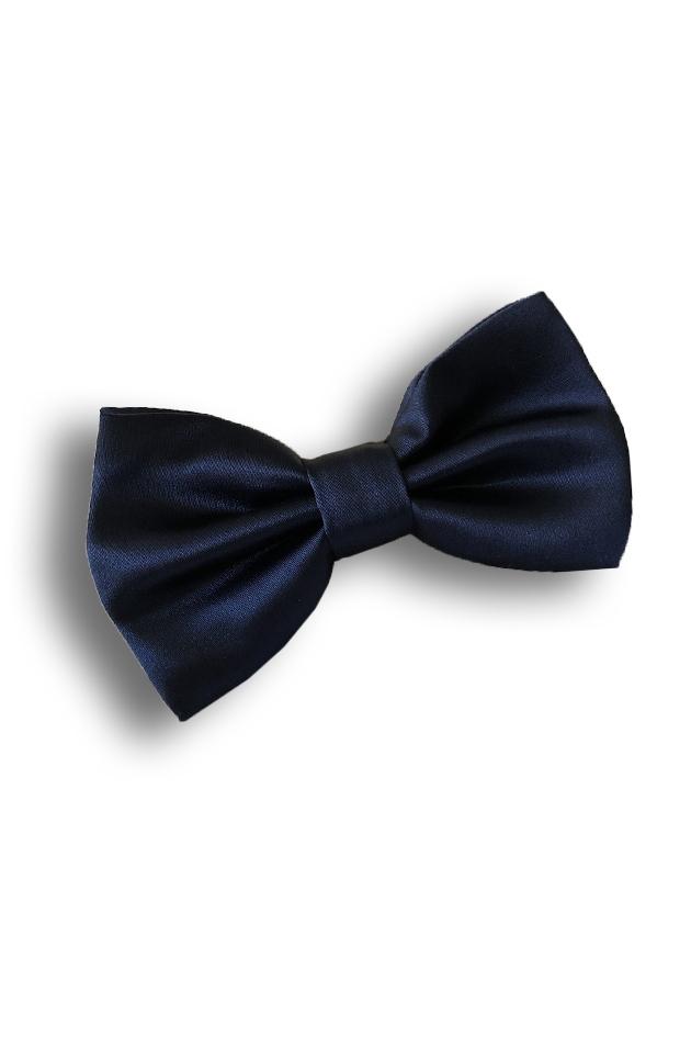 Navy Bow Tie