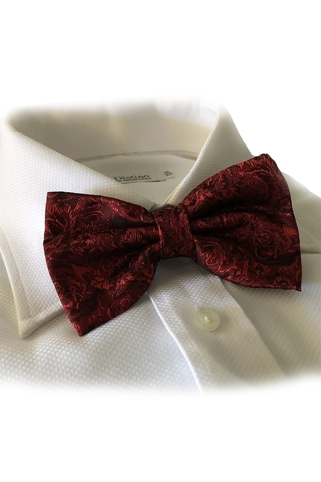 Rose Red Bowtie