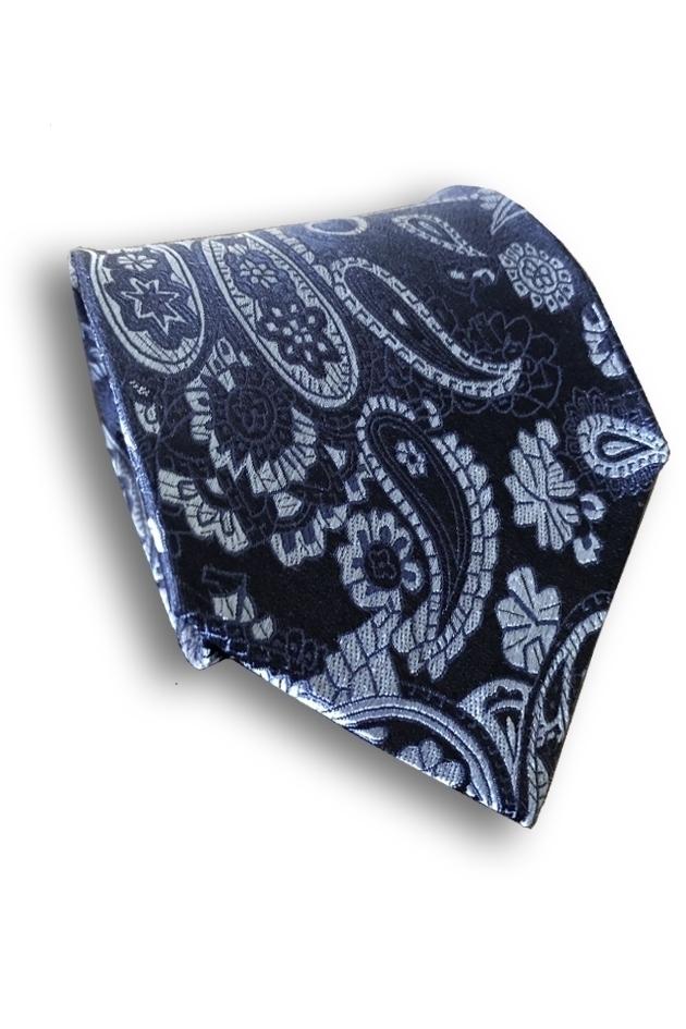 Paisley Seven Fold Silk Tie