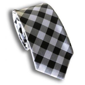 Checkered Neck Tie