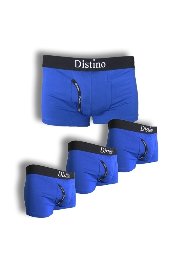 Blue Bamboo Boxer Briefs